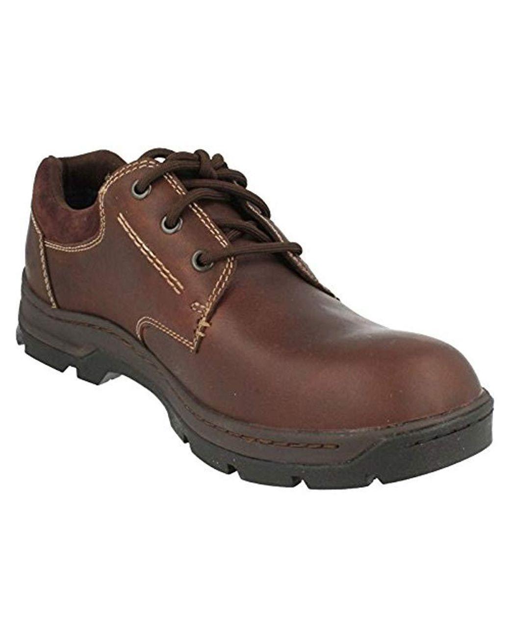Mens Clarks Stanten Walk GTX Lace Up Shoes