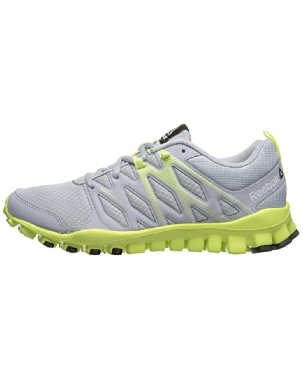 79158e8492 Women's Gray Realflex Train 4.0 Cross-trainer Shoe