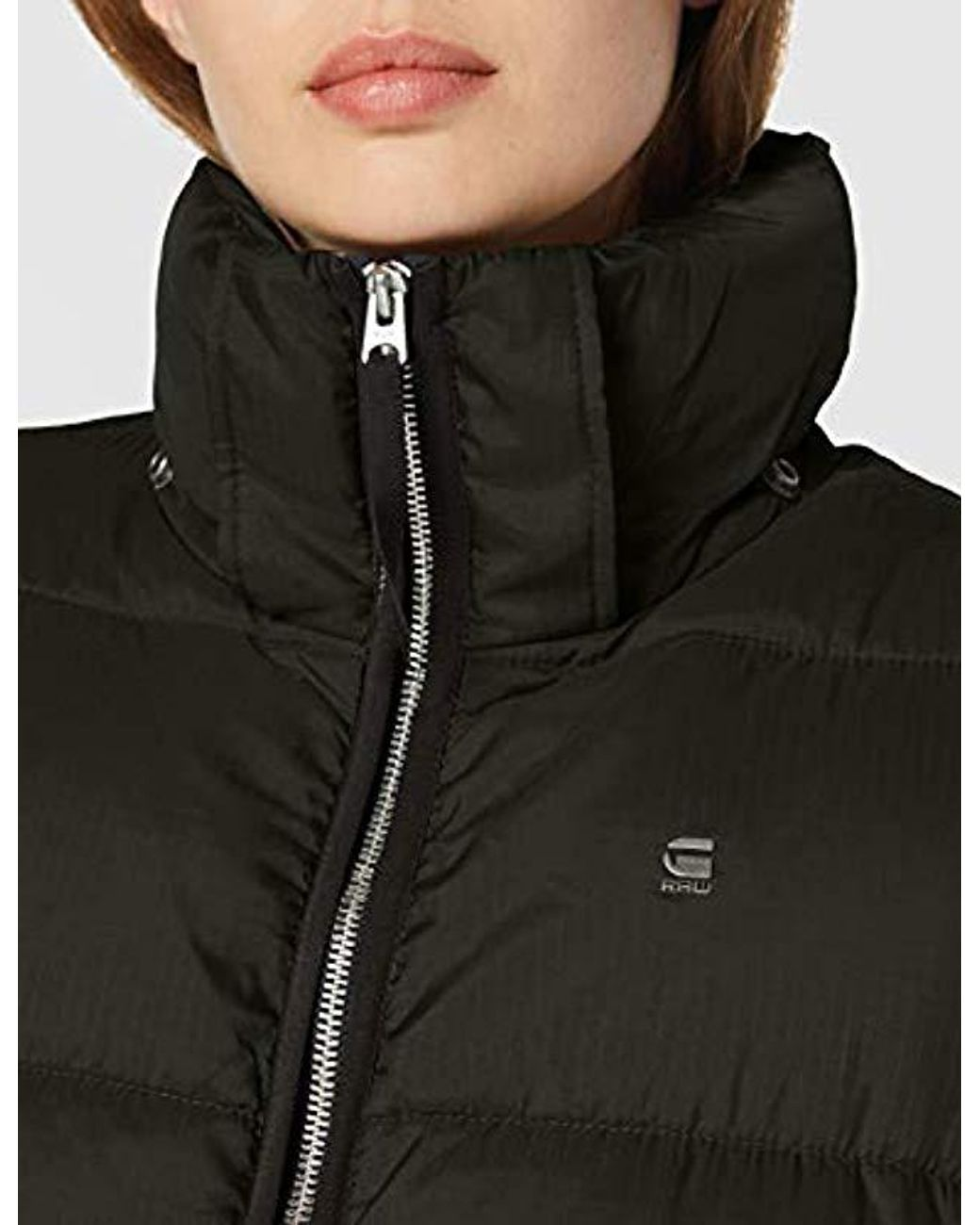 G Star RAW Meefic Sundu Quilted Hooded Overshirt Jacket in