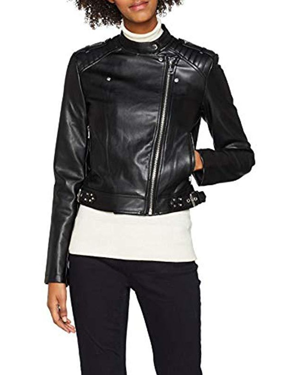 save off 40ad4 76b35 Women's Black Giubbotti Eleonora Jacket Coat