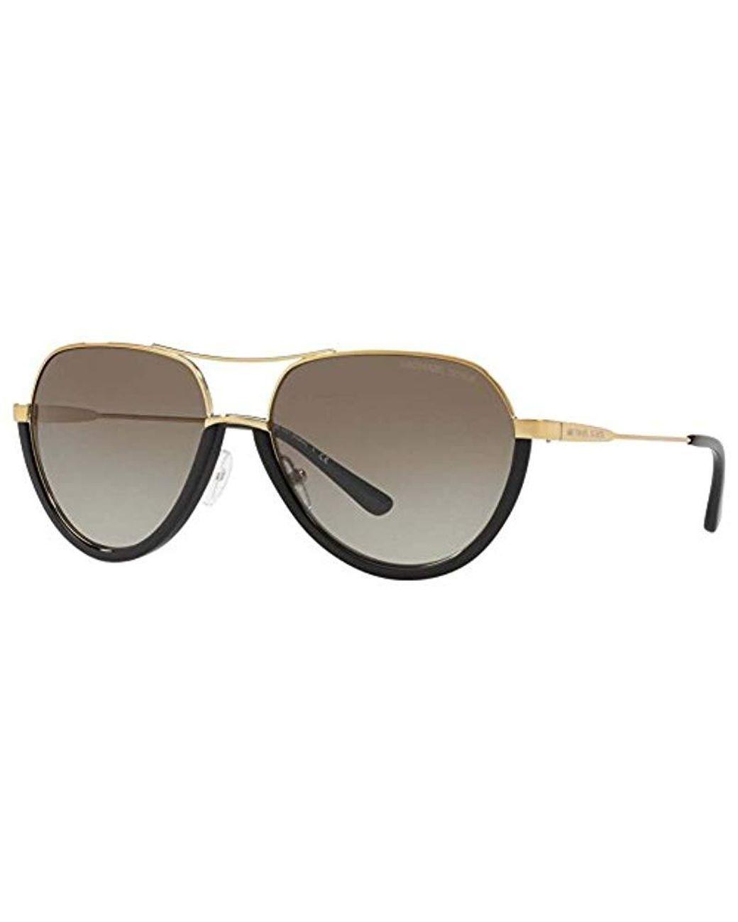 24010699e950 Michael Kors. Women's Metallic 1031 Austin 10248e 58 Rectangular Sunglasses  ...