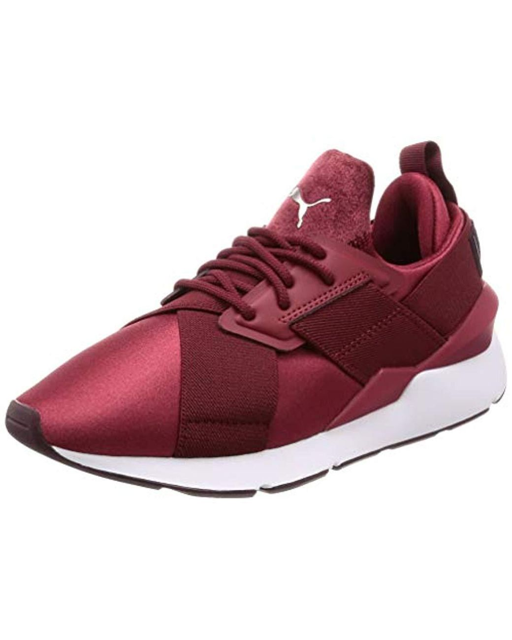 57193602c01e3 Women's Red Muse Satin Ep Wn's Low-top Trainers