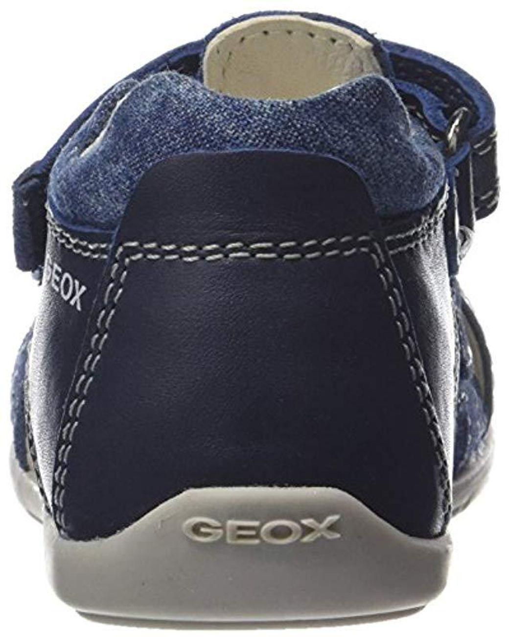 lila Zapatos antideslizantes Medicinal  Geox B Kaytan A Zapatos para bebé Primeros pasos Zapatillas para ...
