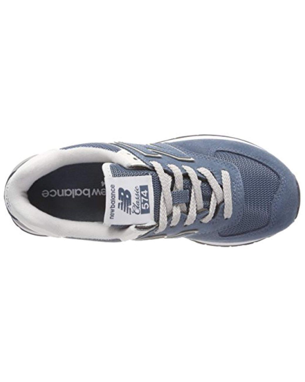 Damen 574v2 Sneaker in blau