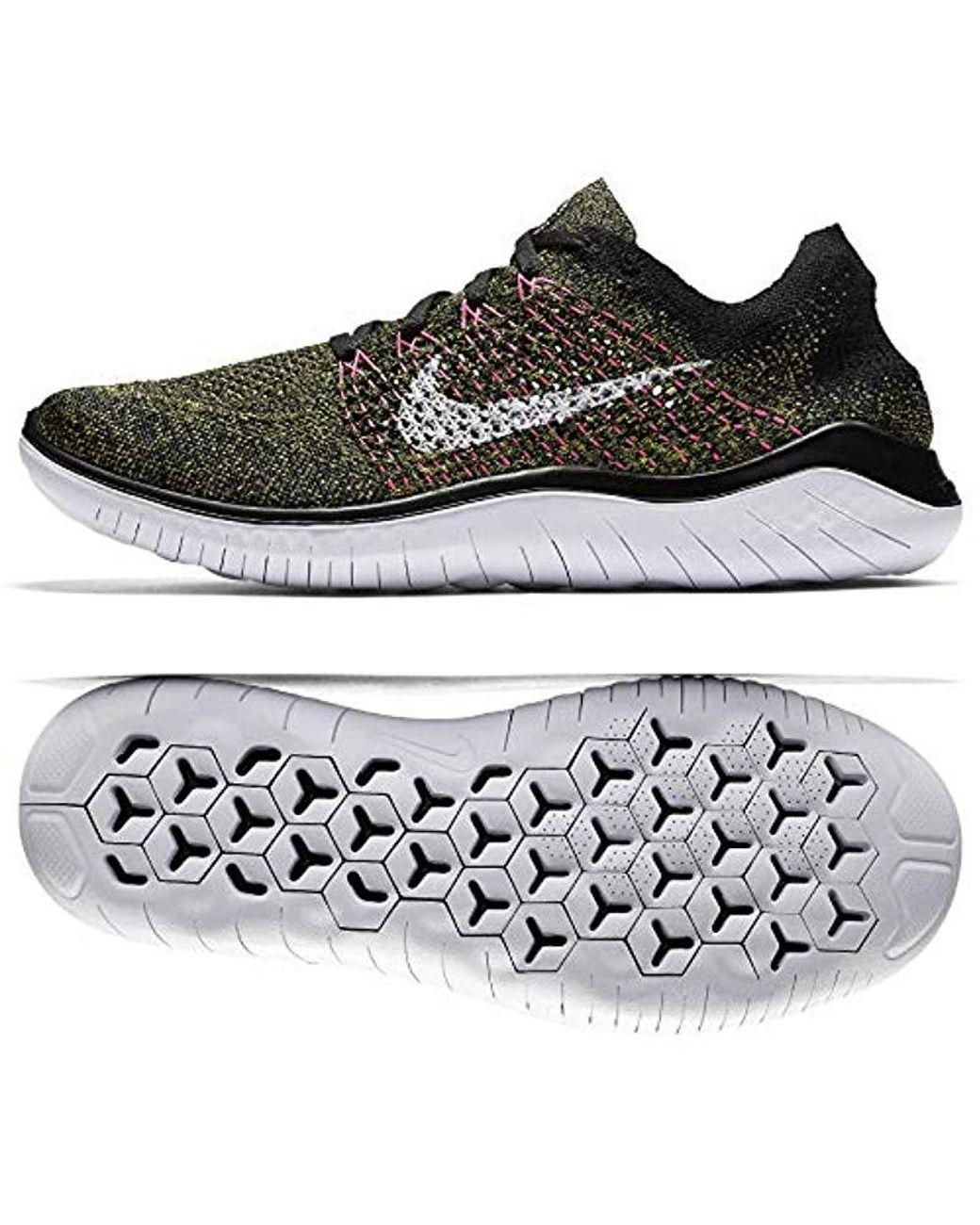 Nike Herren Laufschuh Free Run Flyknit 2018, Scarpe Running