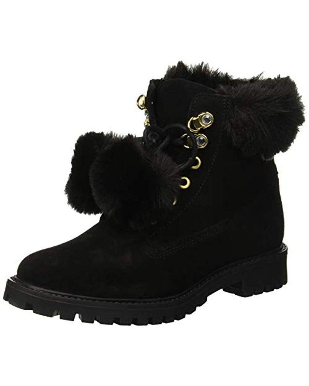 ca45f7c76cd Guess Tamara High Boots in Black - Lyst