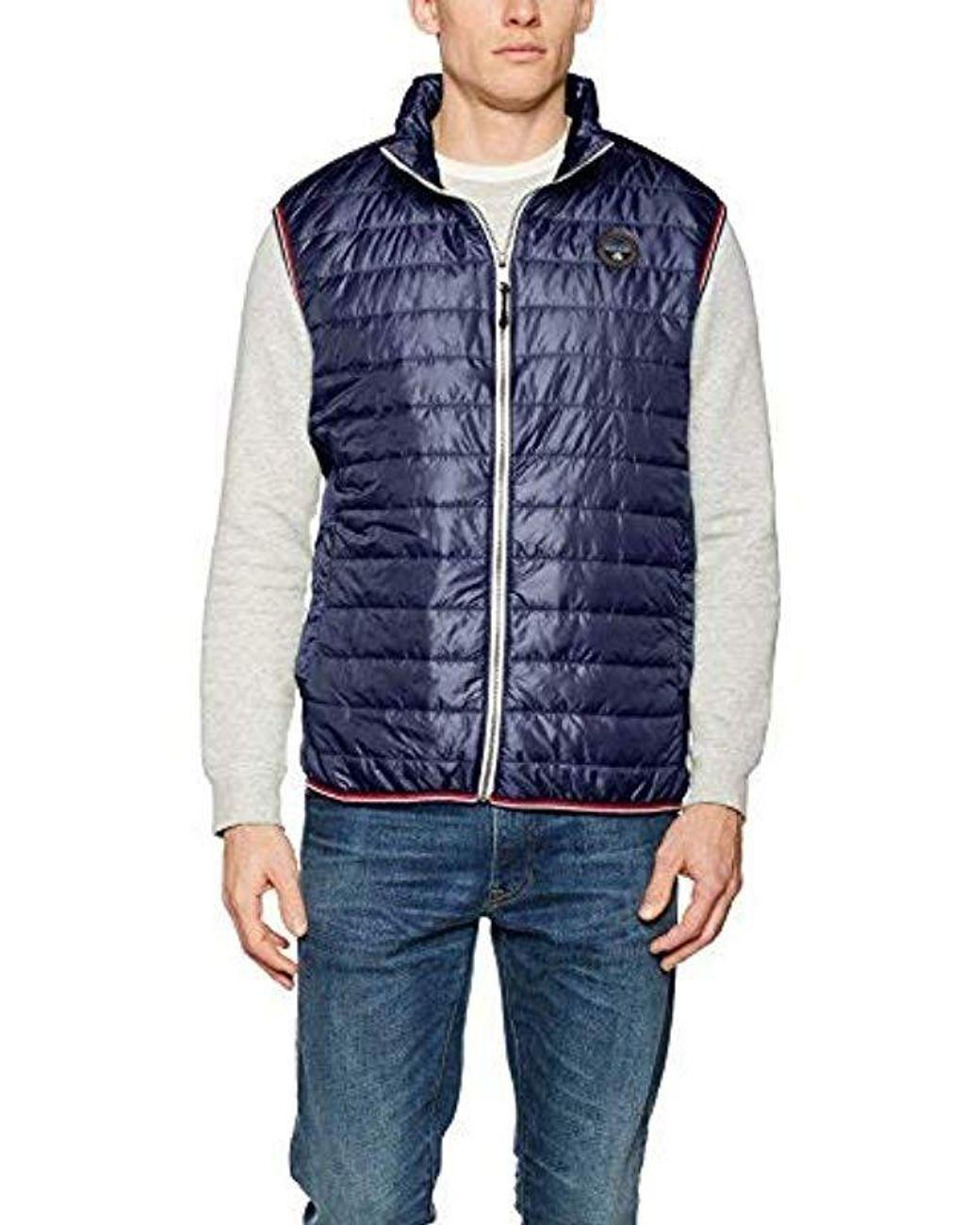 Men's Blue Aledon Vest Jacket