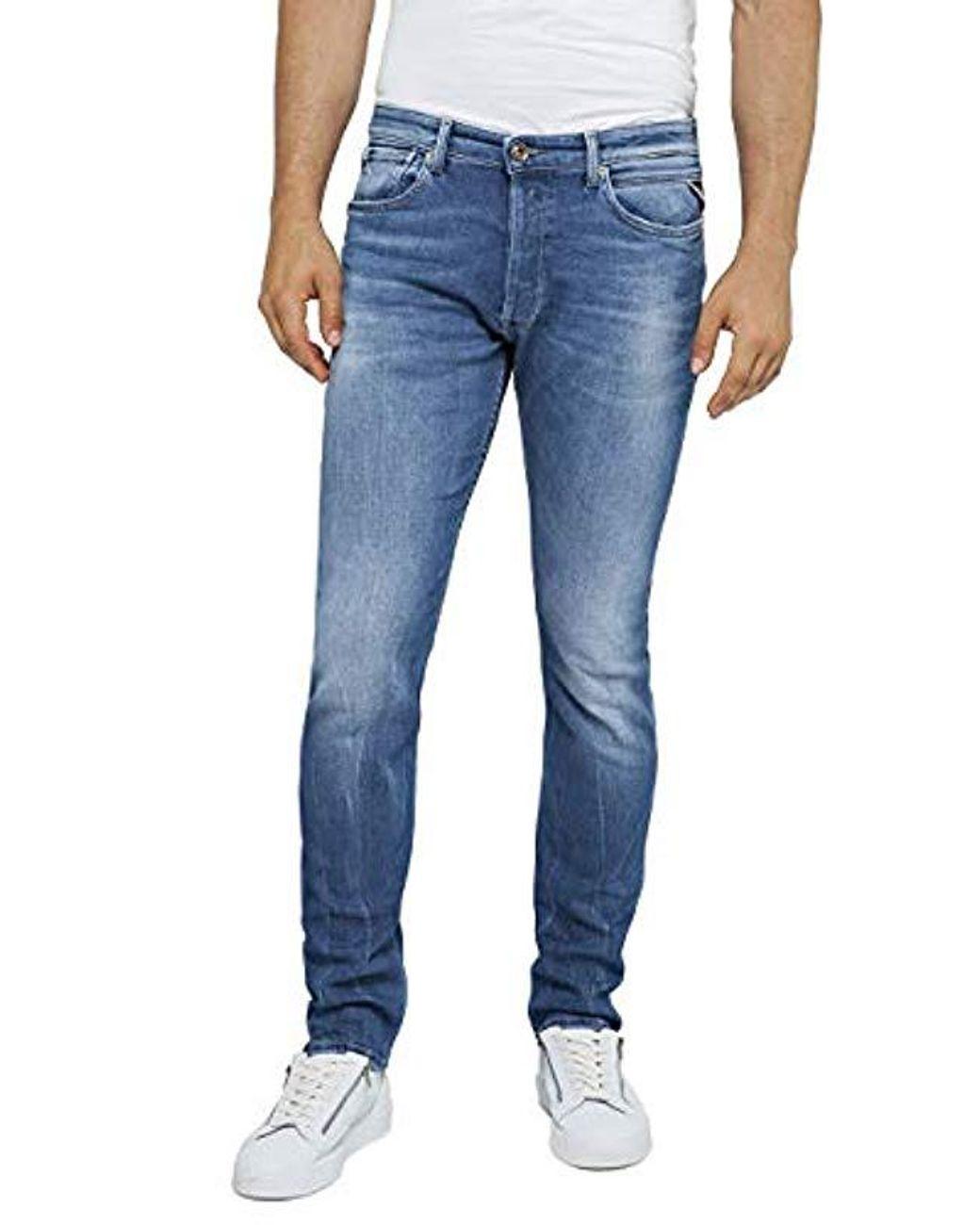 REPLAY Donny Jeans Slim Uomo