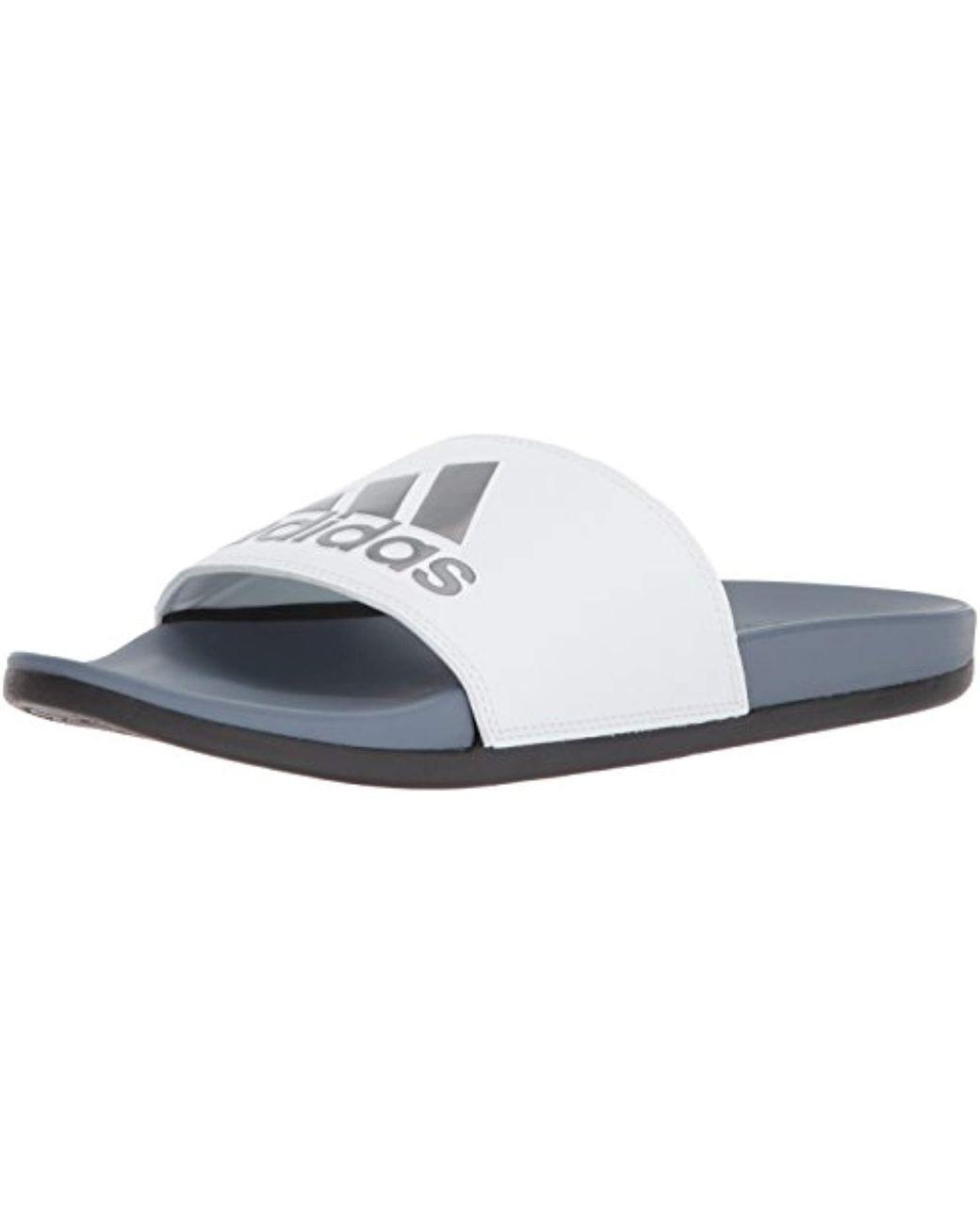 655d4c07f9b7 Lyst - adidas Adilette Comfort Slide Sandal