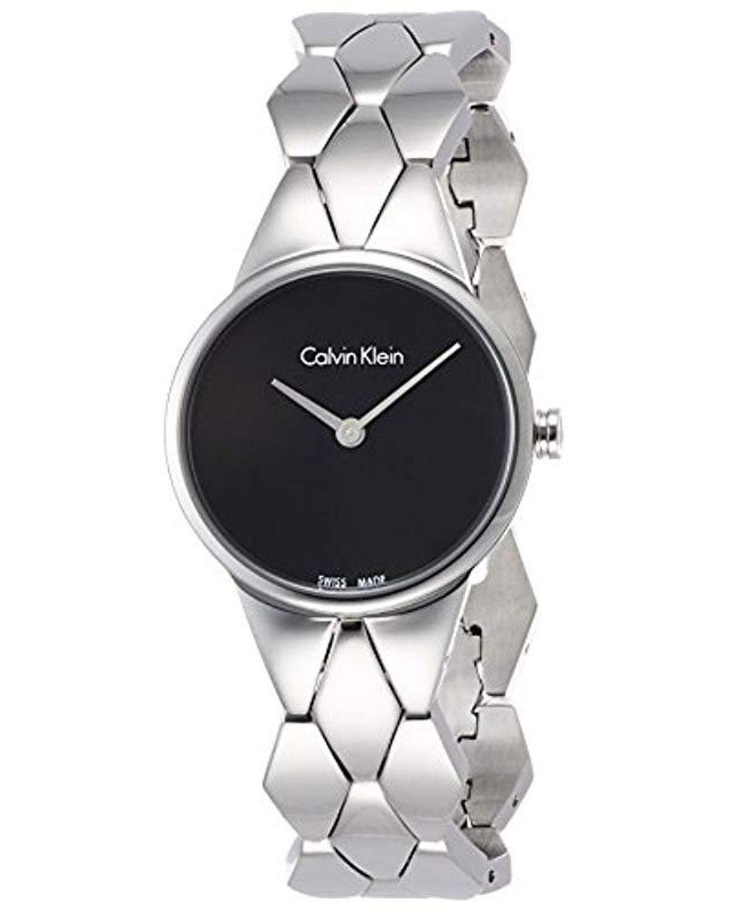 Reloj Analogico para Mujer de Cuarzo con Correa en Acero Inoxidable K6E23141