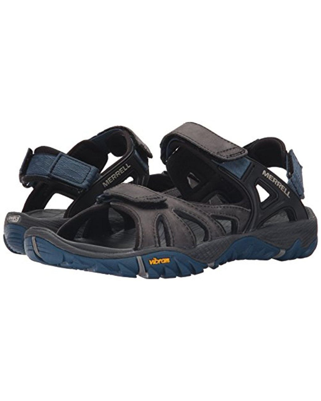 41d0794afceb Lyst - Merrell  s All Out All Out Blaze Sieve Convert Hiking Sandals in  Gray for Men - Save 47%