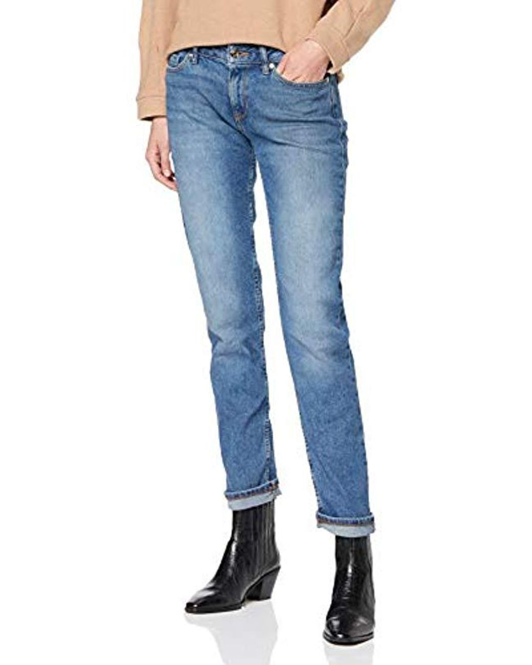 524a1c5d Long-Touch to Zoom. Long-Touch to Zoom. 1; 2; 3; 4; 5. Tommy Hilfiger - Blue  Rome Straight Rw Shane Jeans ...