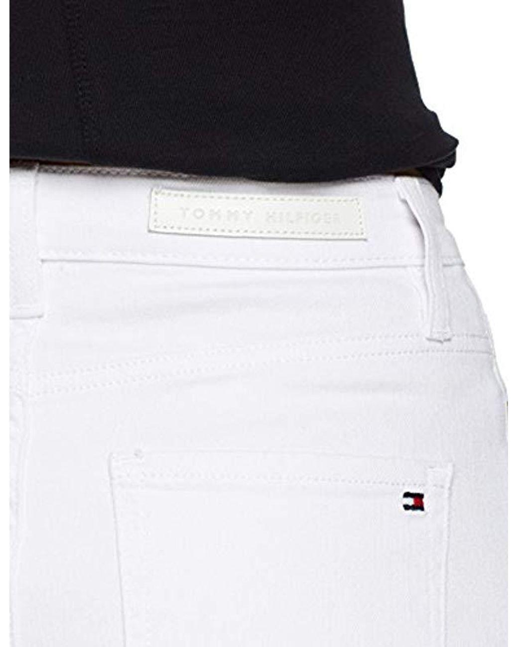 Pantalones Cortos Mujer Tommy Hilfiger Rome Rw Short Violette Pantalones Cortos Para Mujer Ropa Mujer