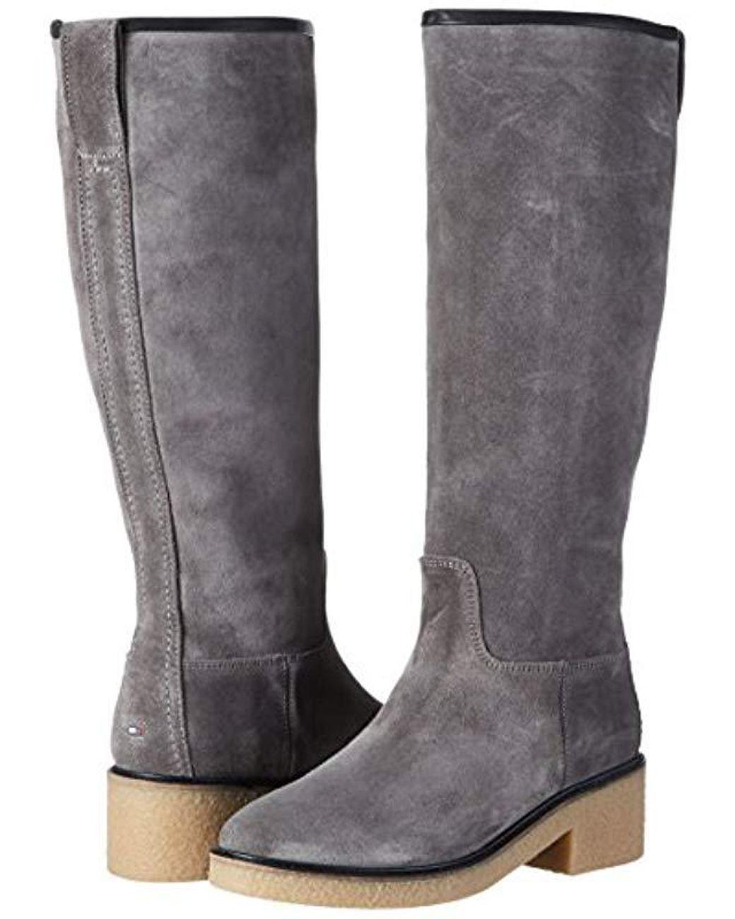 M1285ia 4b, Bottes Femme de coloris gris