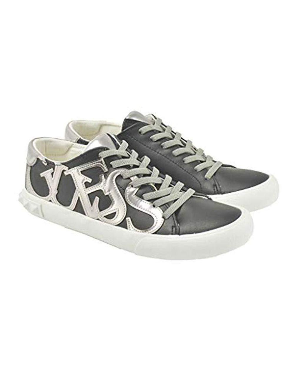 Femme Noir Sneakers Guess 37 Fl5hamele12 R3AL54jcq