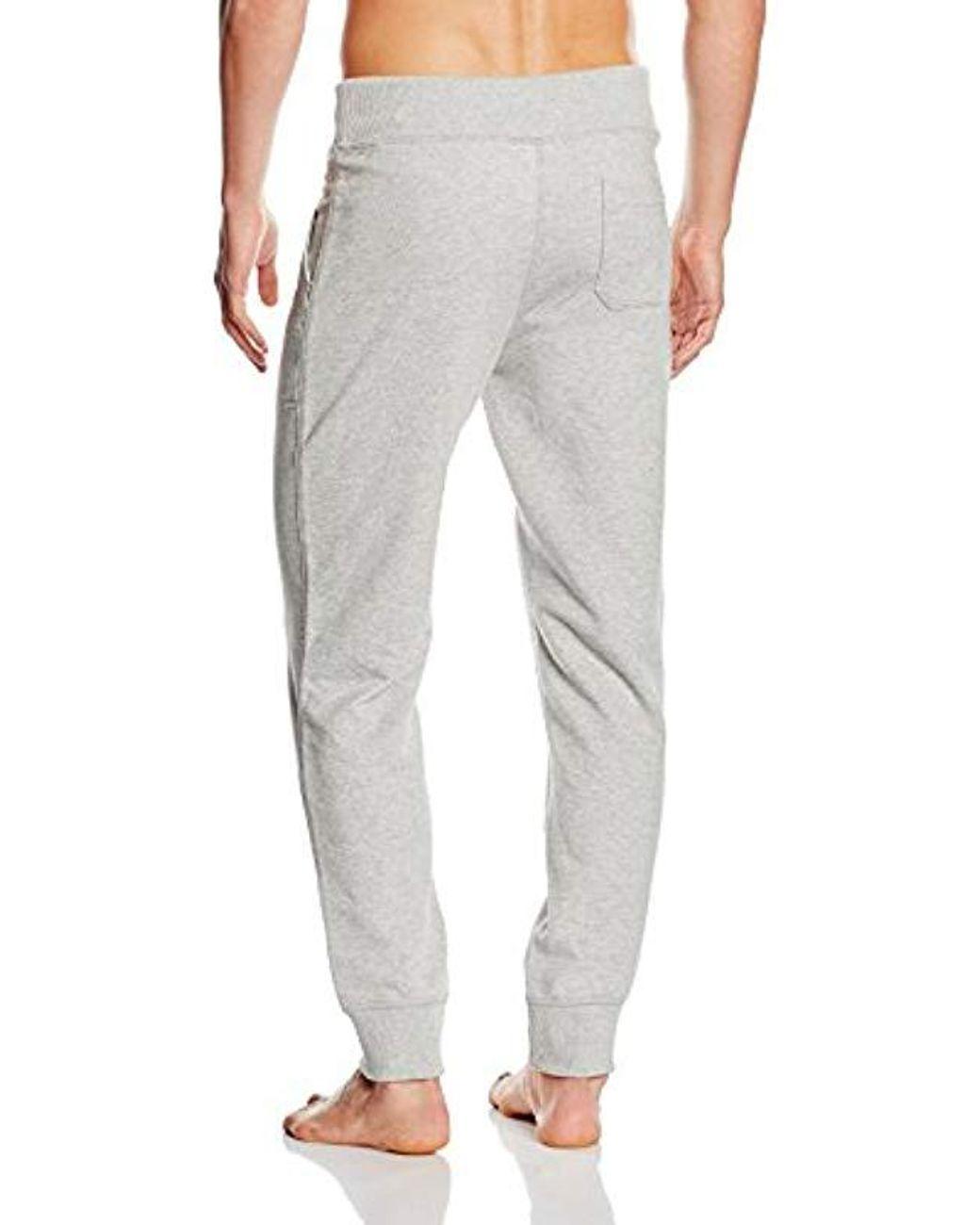 Tommy Hilfiger Cn LS Pant Flannel Set Pantalones de Pijama para Hombre
