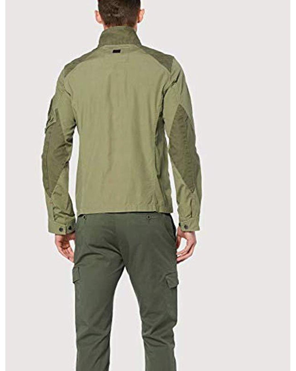 8bb426e5f Men's Green Truss Field Overshirt Jacket