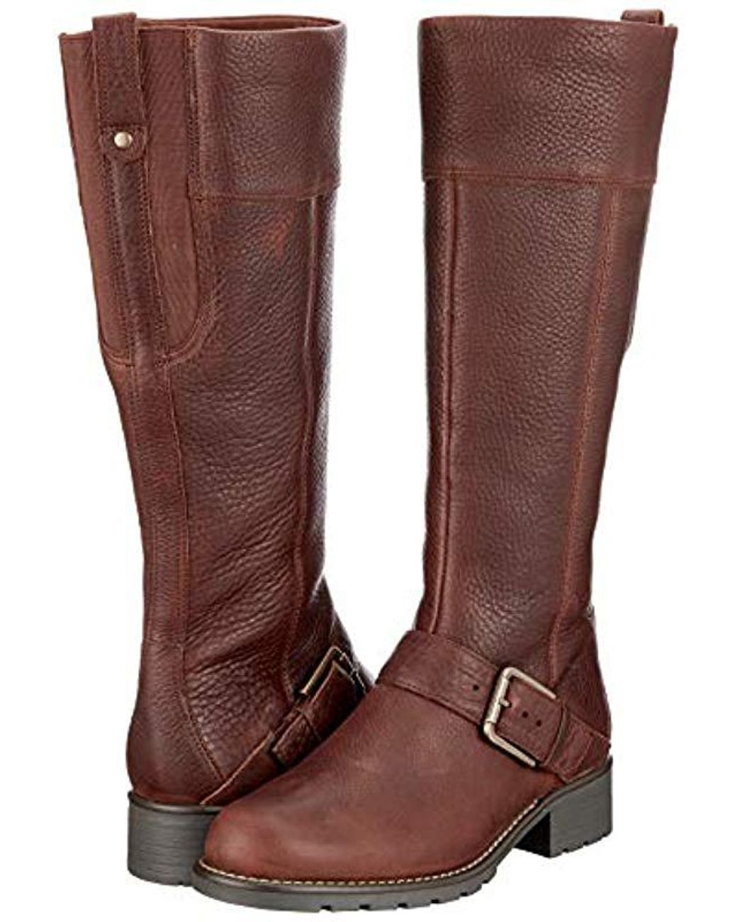 6004282418f Clarks Leather Orinoco Jazz Ankle Riding Boots in Brown - Lyst