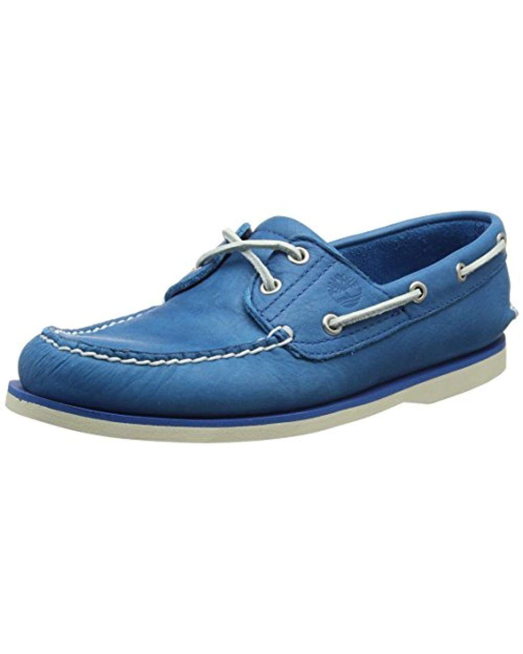 Classic Boat 2 Eyemykonos Blue Escape Chaussures Bateau Homme de coloris bleu