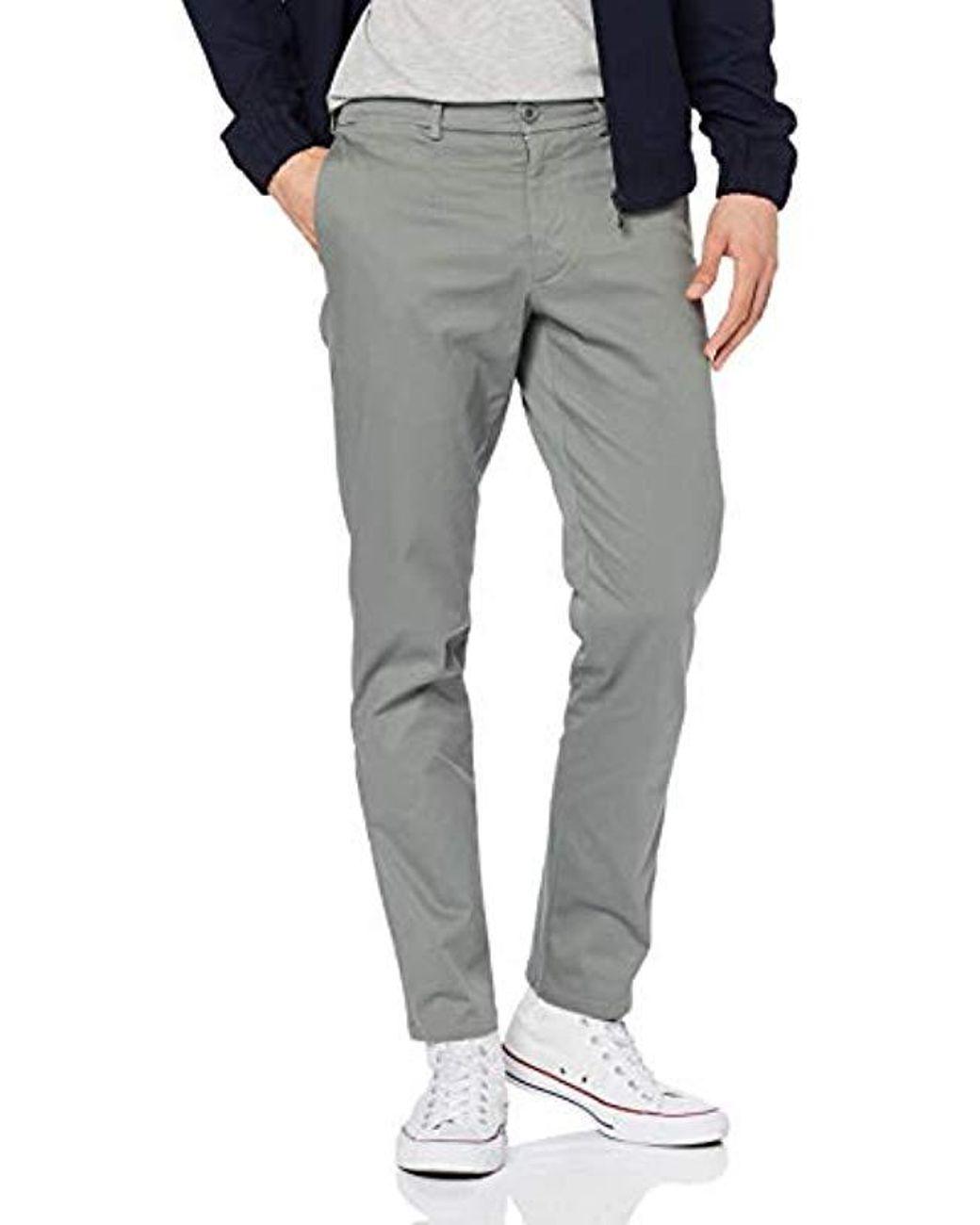 Filippa K M. Penn Twill Chino Trousers in Gray for Men