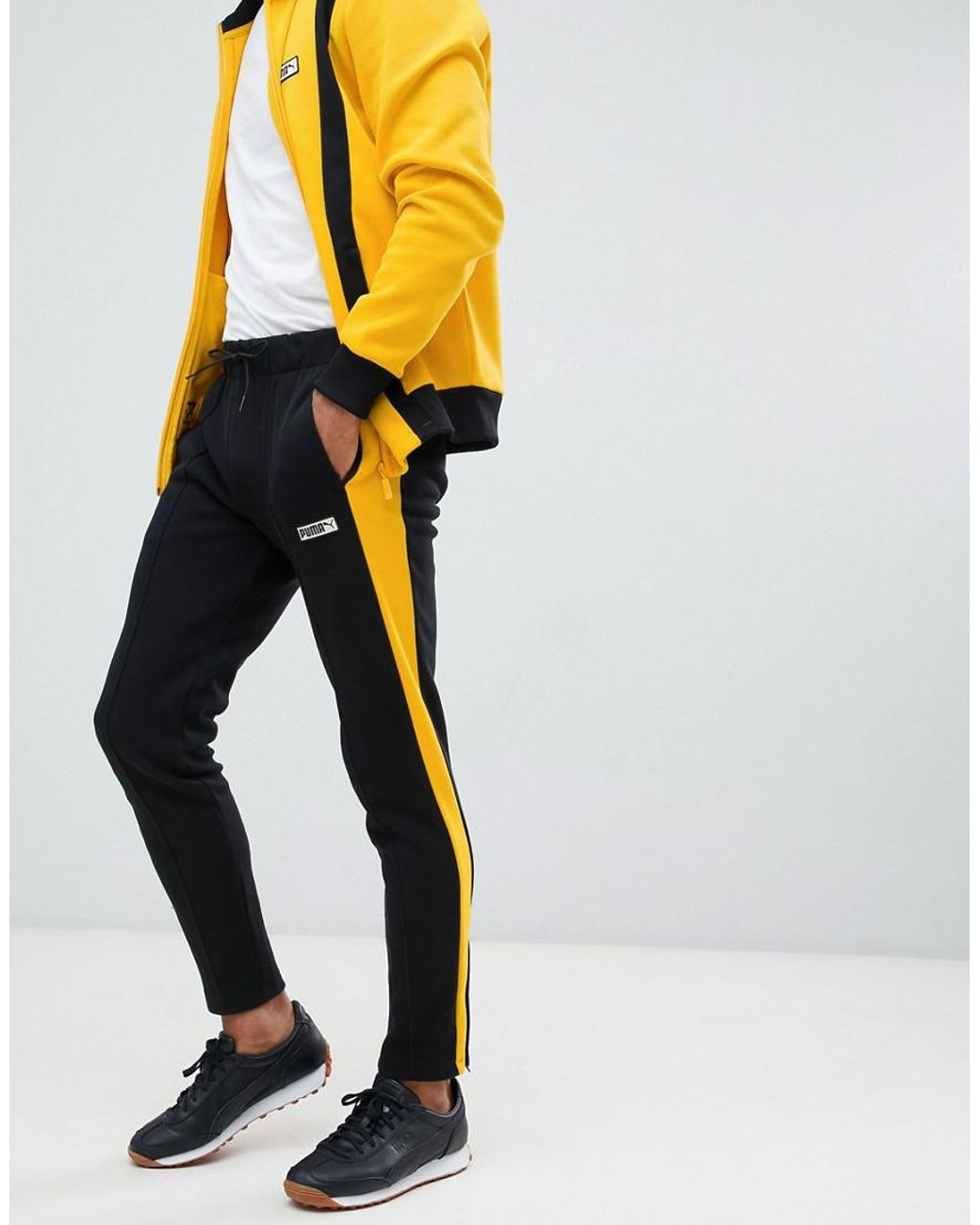 3909a8d7577d PUMA Spezial joggers In Yellow 57722201 in Yellow for Men - Lyst