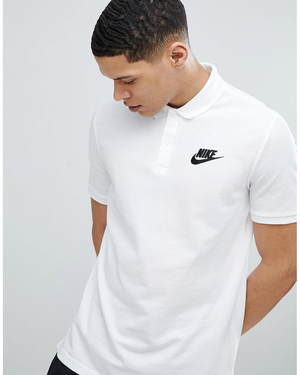 nike air max cheap thea, Nike matchup striped polo in grey