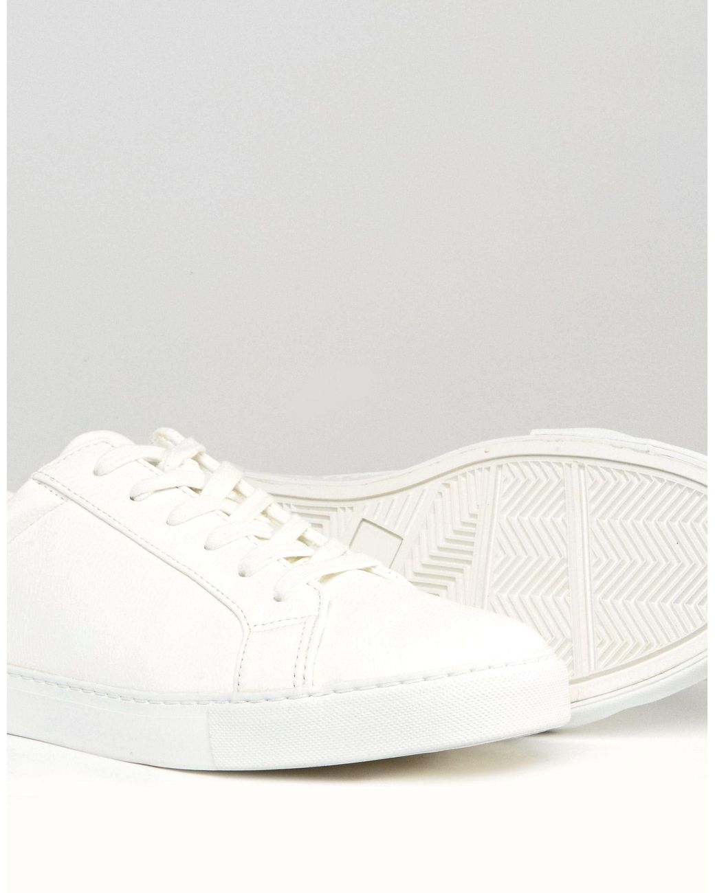 ASOS Trainers in White for Men - Lyst