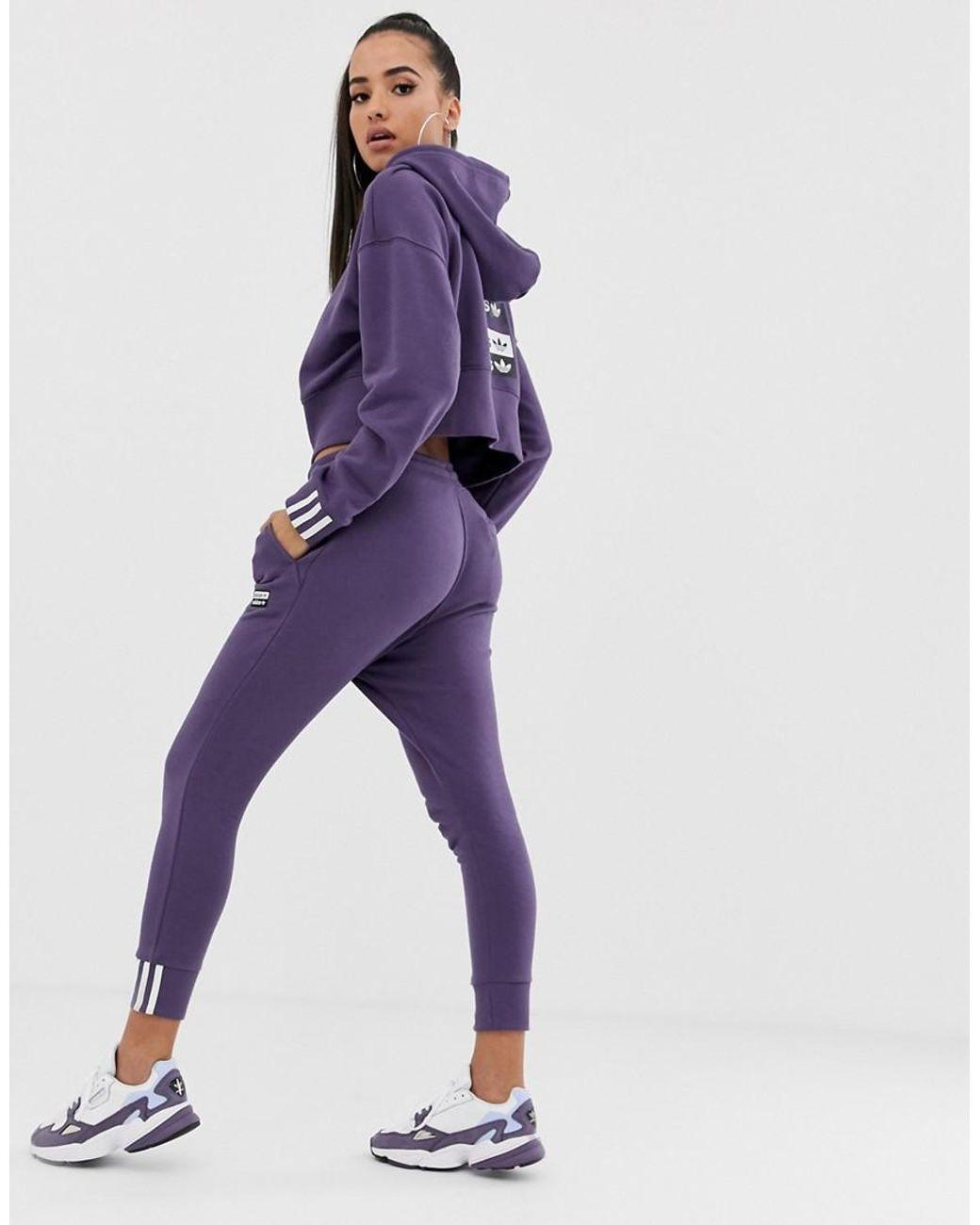 Veste de survêtement SST Violet adidas | adidas France