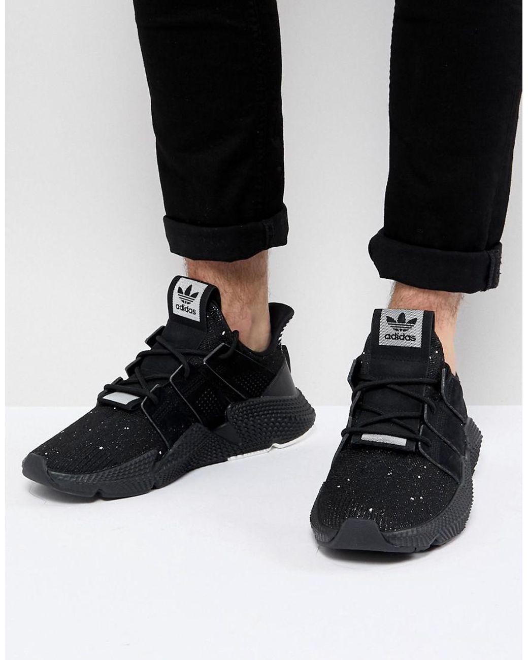 kiváló minőségű alacsonyabb ár a alacsonyabb ár a adidas Originals Prophere Sneakers In Black B22681 for Men - Lyst