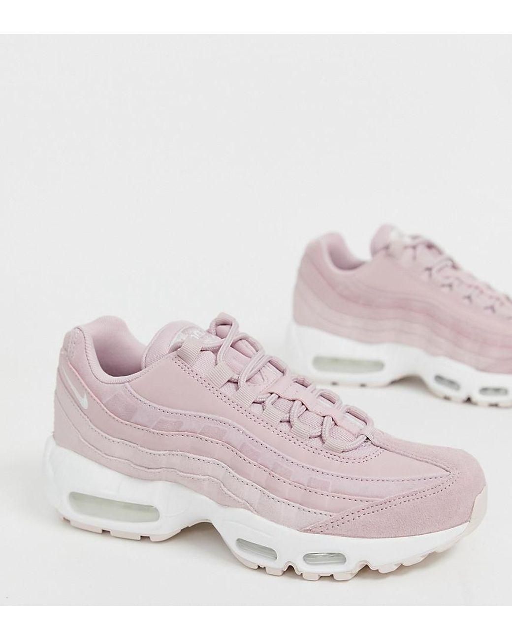 low priced ec08b 2b011 Women's Air Max 95 Sneakers In Pink