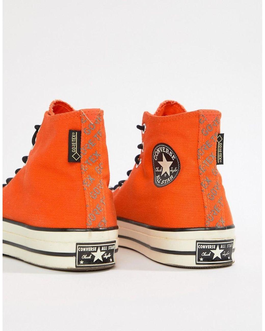 all star converse arancio