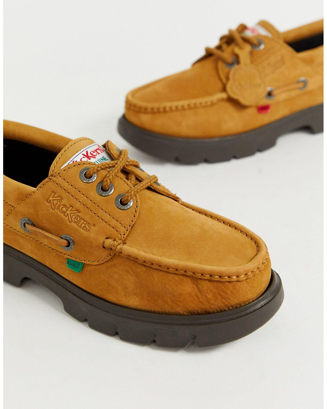 Chaussures Bateau gar/çon Kickers Lennon Boatshoe