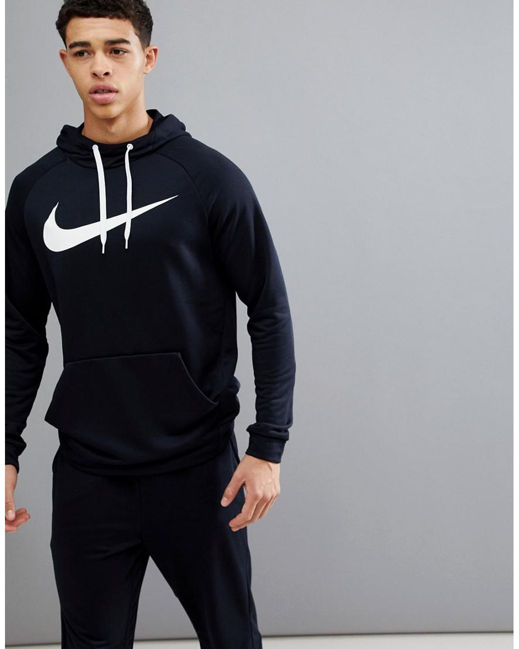 get new store new style Dry Swoosh Hoodie In Black 885818-010
