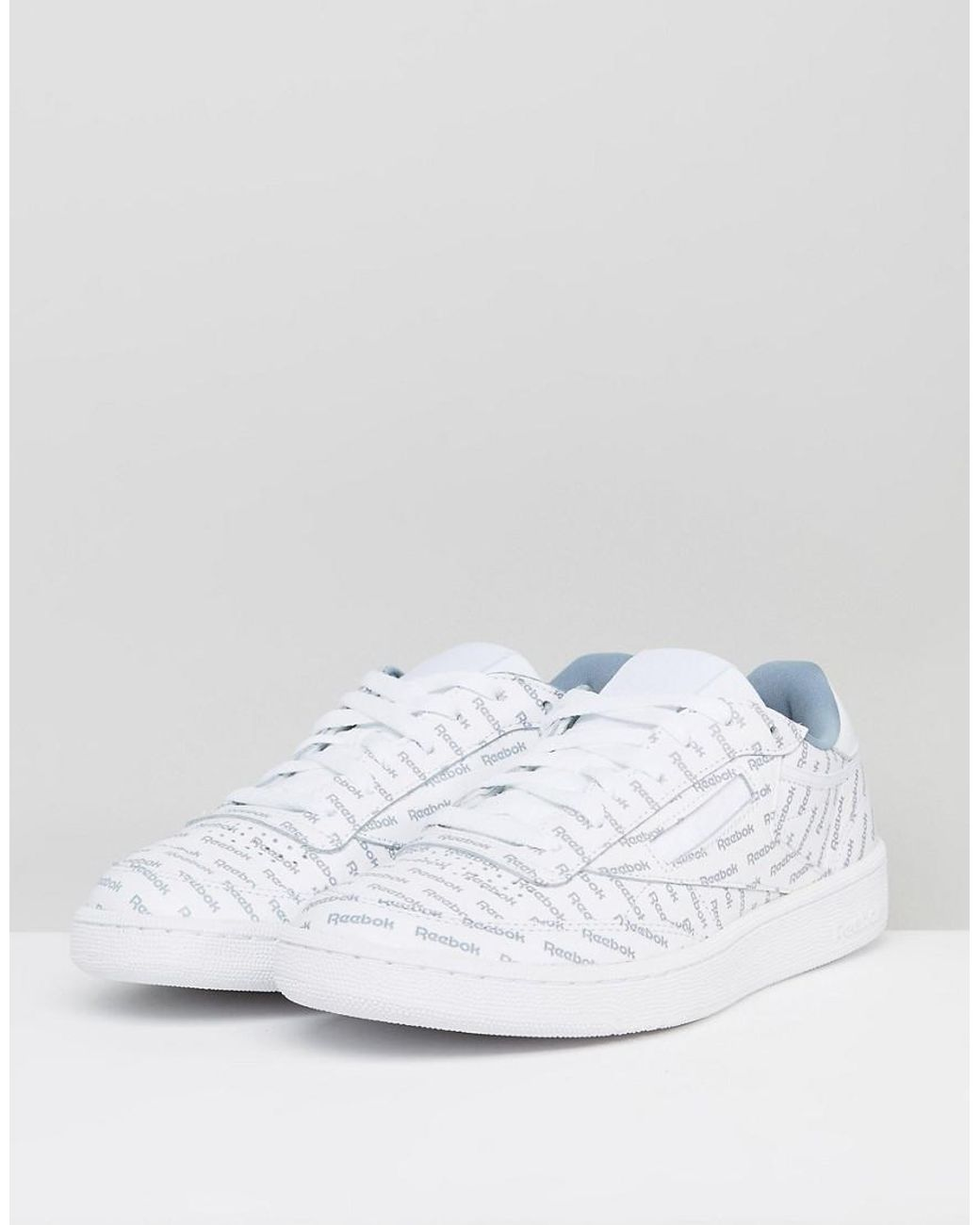 36e56f82d3c Reebok Club C 85 So Trainers In White Bs5215 in White for Men - Lyst