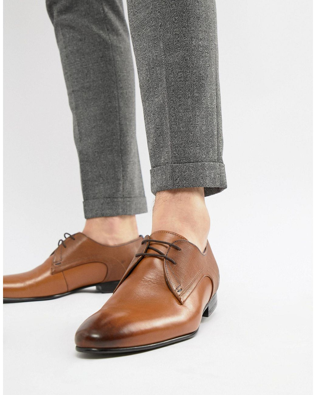 Ted Baker Leather Peair Derby Shoes in