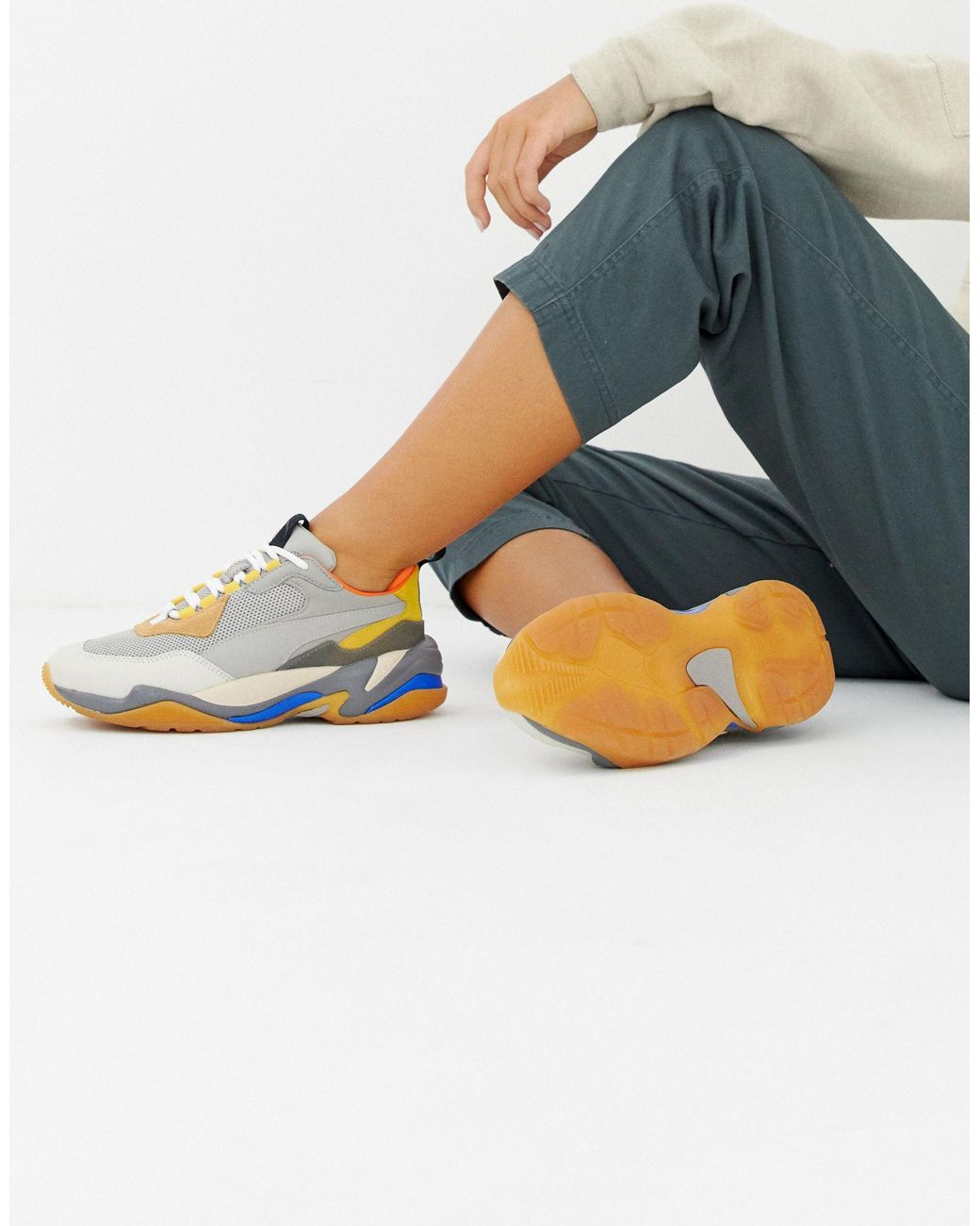 PUMA Leather Thunder Spectra Sneakers