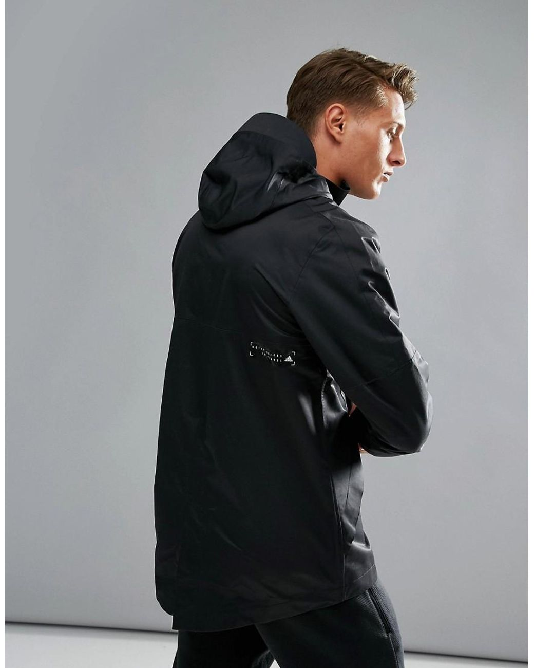 sneakers for cheap usa cheap sale best online Id Storm Jacket In Black Bs4855