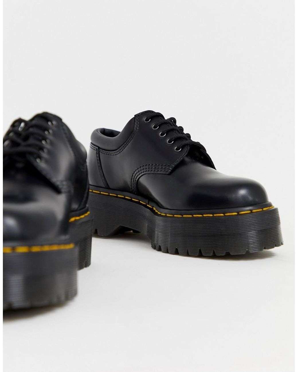 official images where can i buy picked up 8053 Quad Platform Shoes In Black