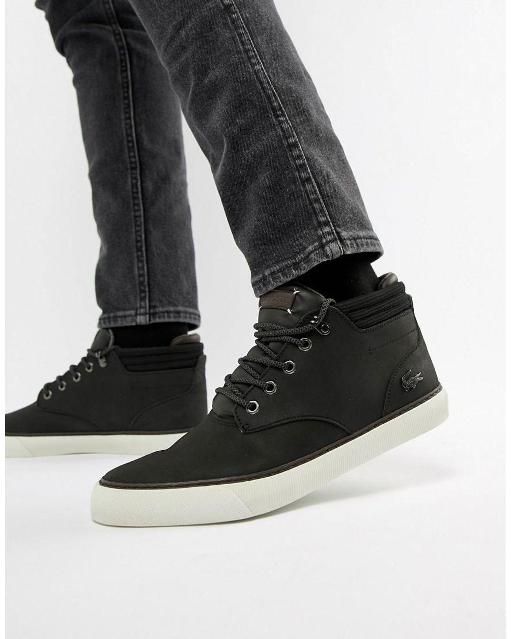 men's esparre chukka leather sneakers