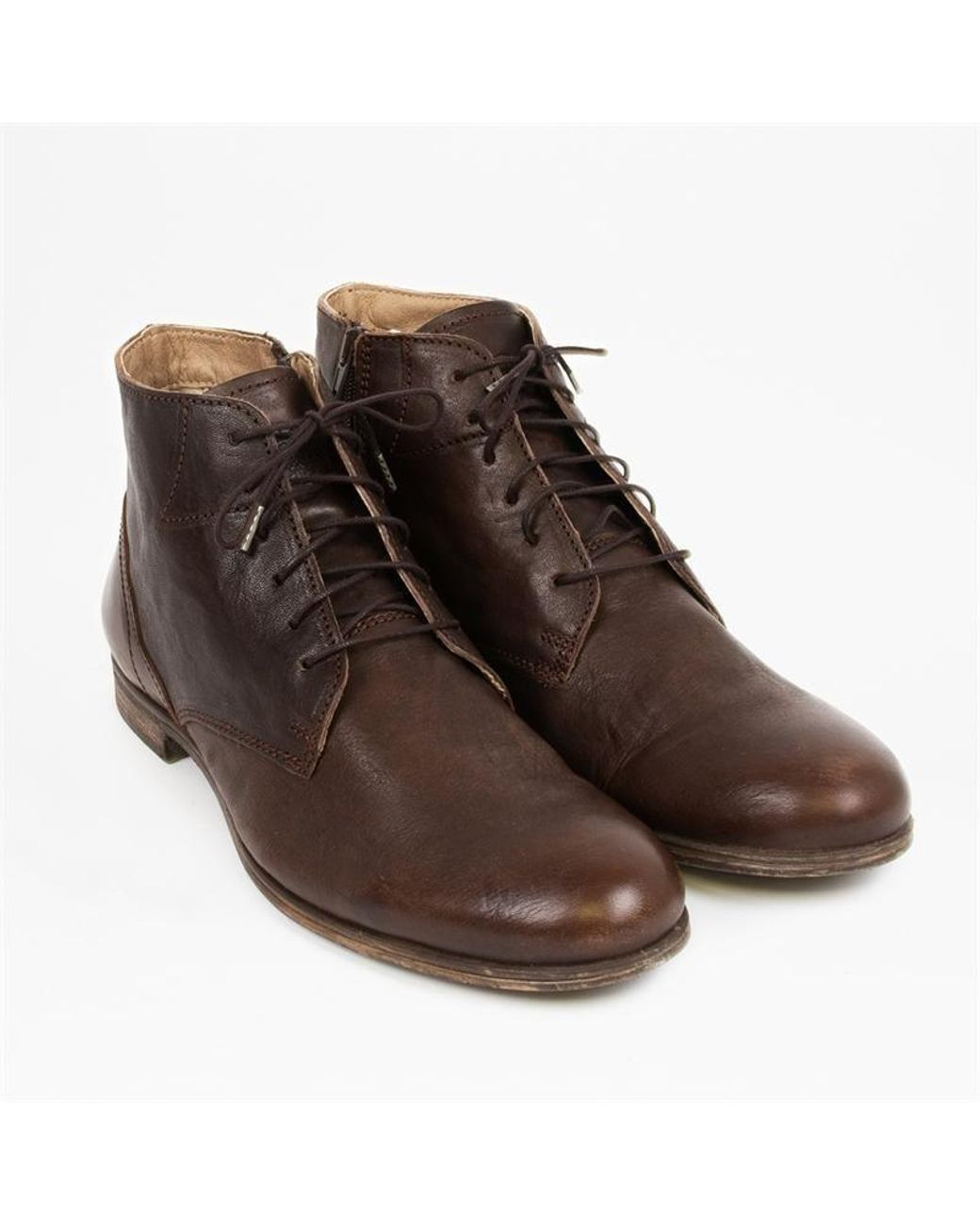 Sneaky Steve Dirty Mid Chukka Boots Homme