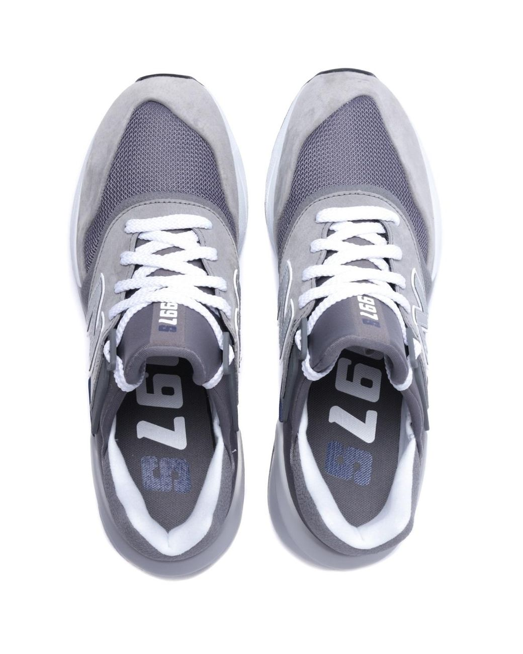 timeless design 100% authentic detailed images New Balance Suede Ms997 Motion Control Stone Grey Trainers ...