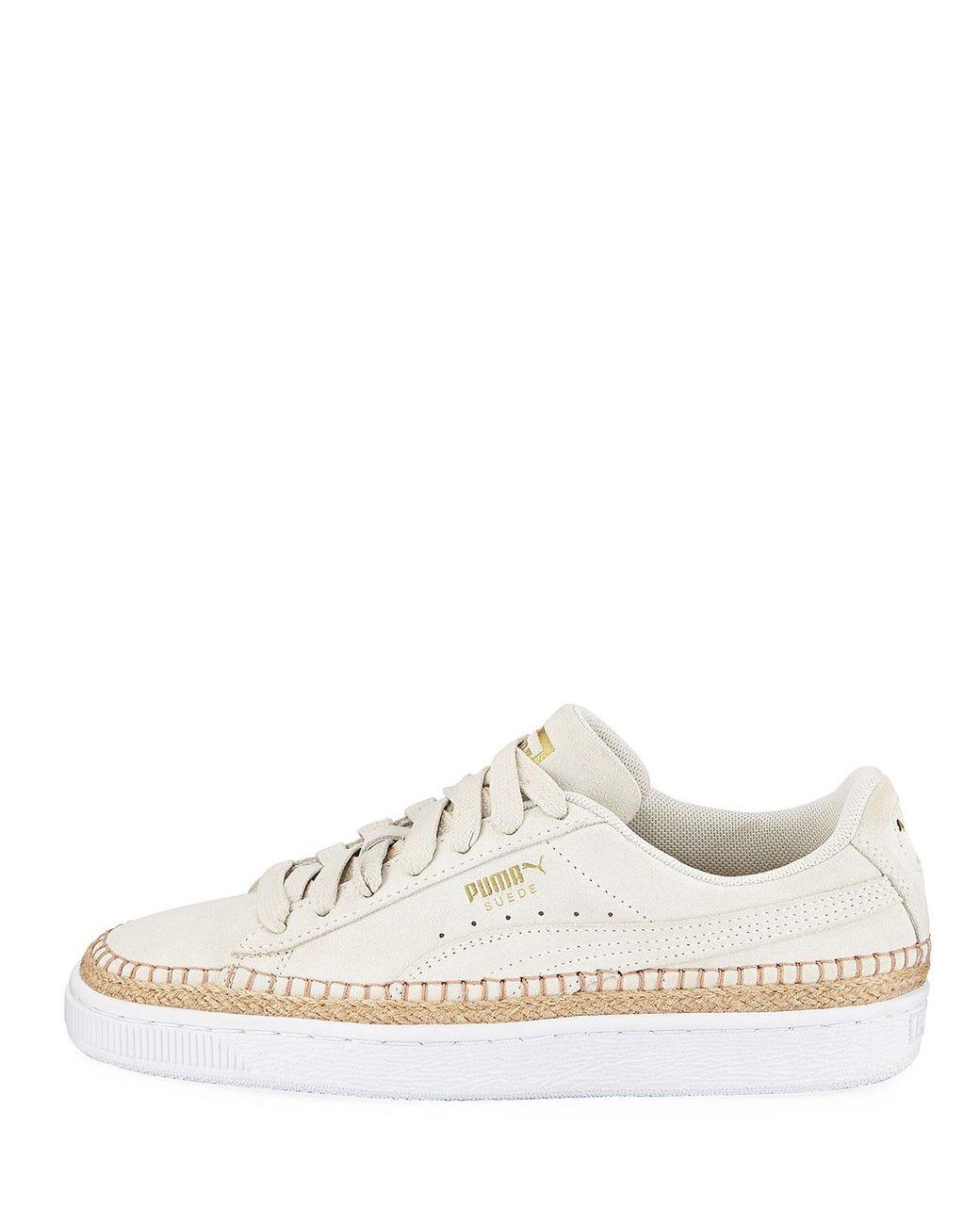 PUMA Sneakerdrille Low top Suede Espadrille Sneakers in