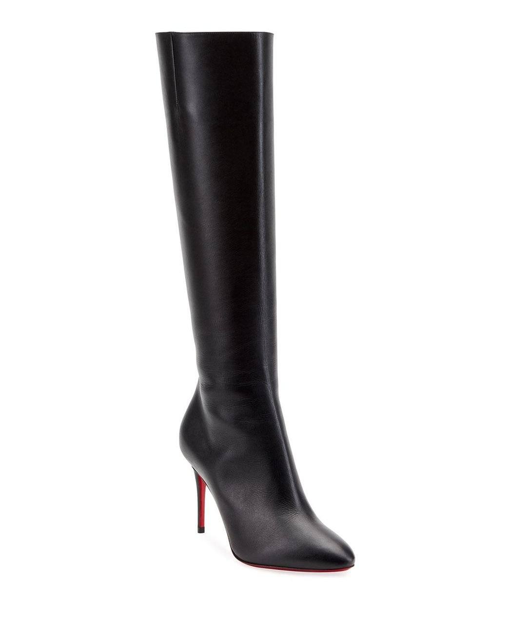 wholesale dealer 58b19 62e36 Women's Black Eloise Botta Red Sole Boots