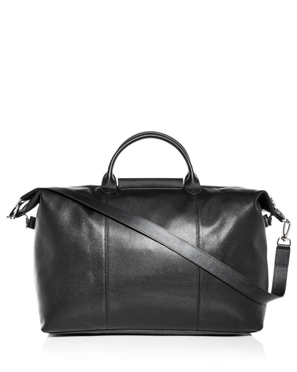 Le Foulonné Leather Duffel Bag