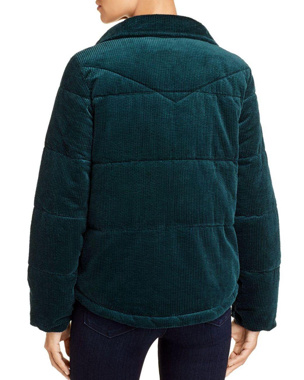 Levine Corduroy Puffer Corduroy Levine Coat IbgYf7y6v
