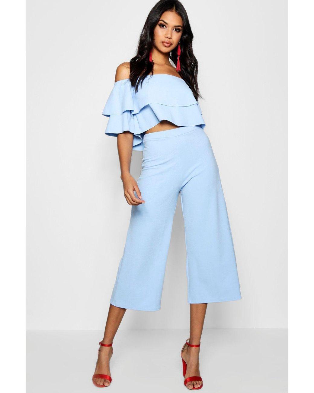 New Ladies Floral Print High Waist Neck Crop Top  A Line Skirt Dress Co Ord Set