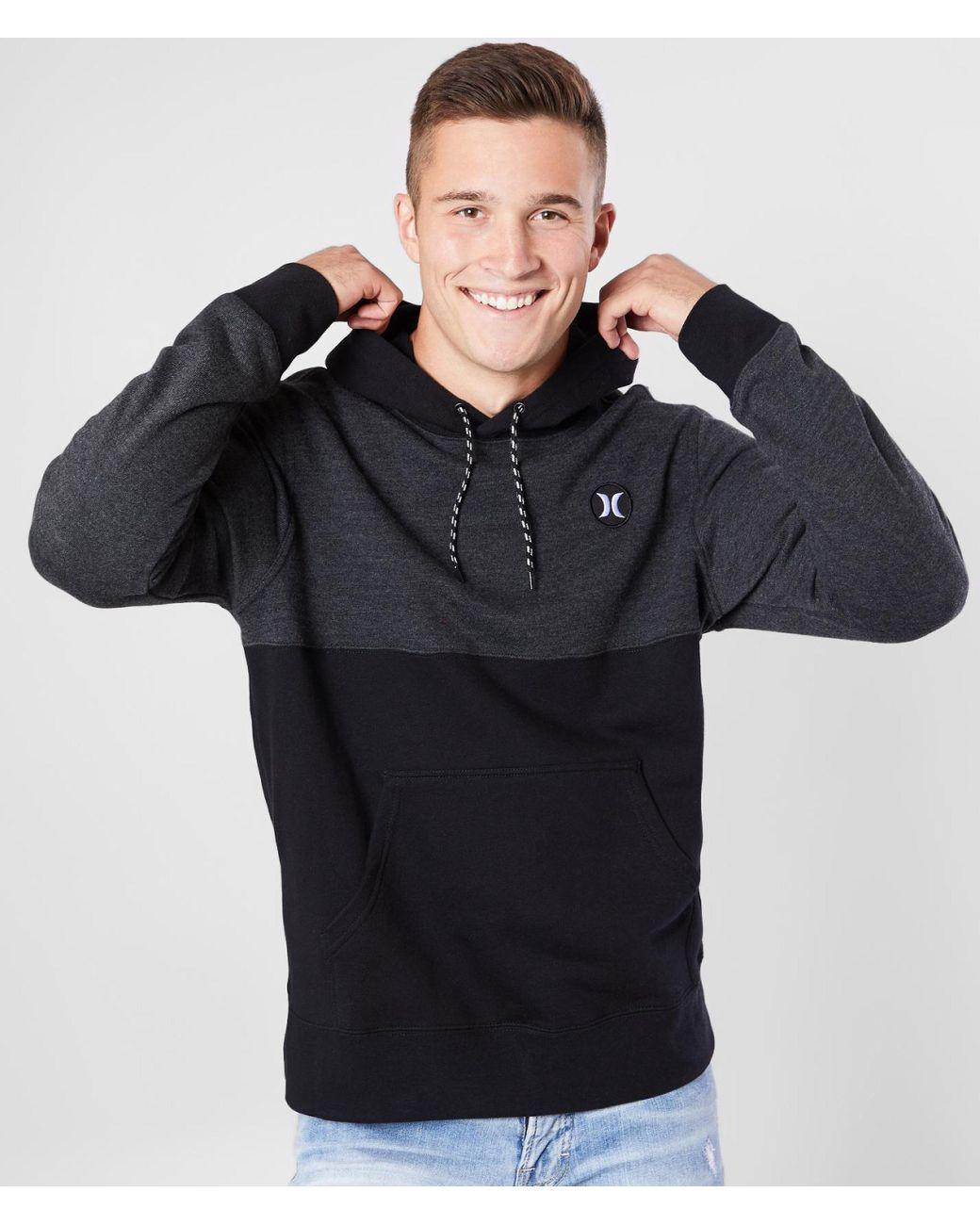 Hurley Boys B Crone Blocked Pullover Sweater