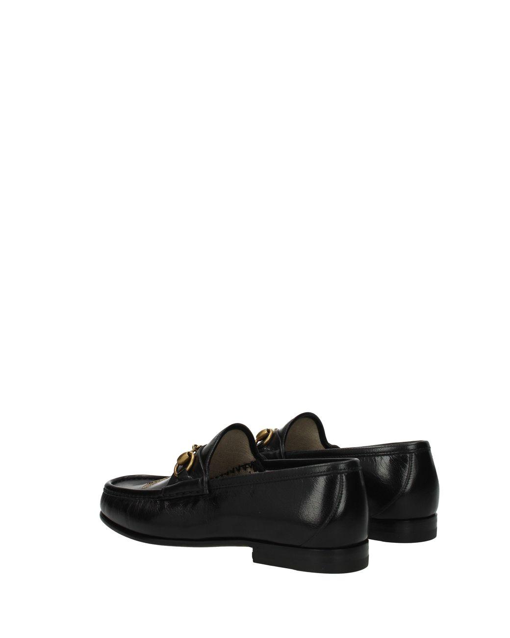 775fae57e Gucci Loafers Men Black in Black for Men - Lyst
