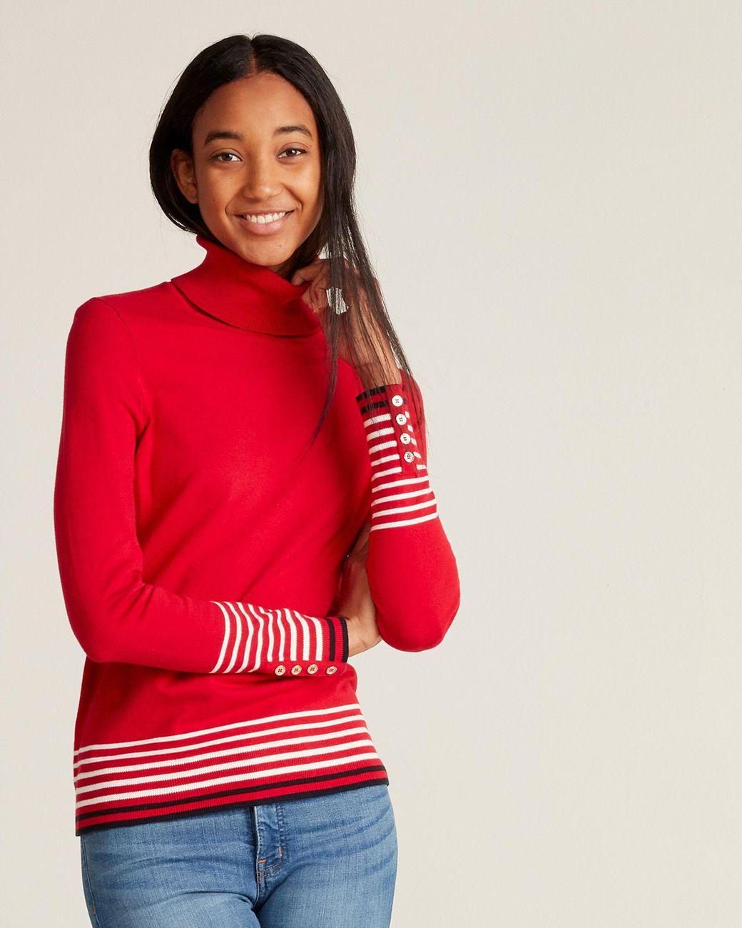 Tommy Hilfiger  Girls Jacquard Stripe Sweater