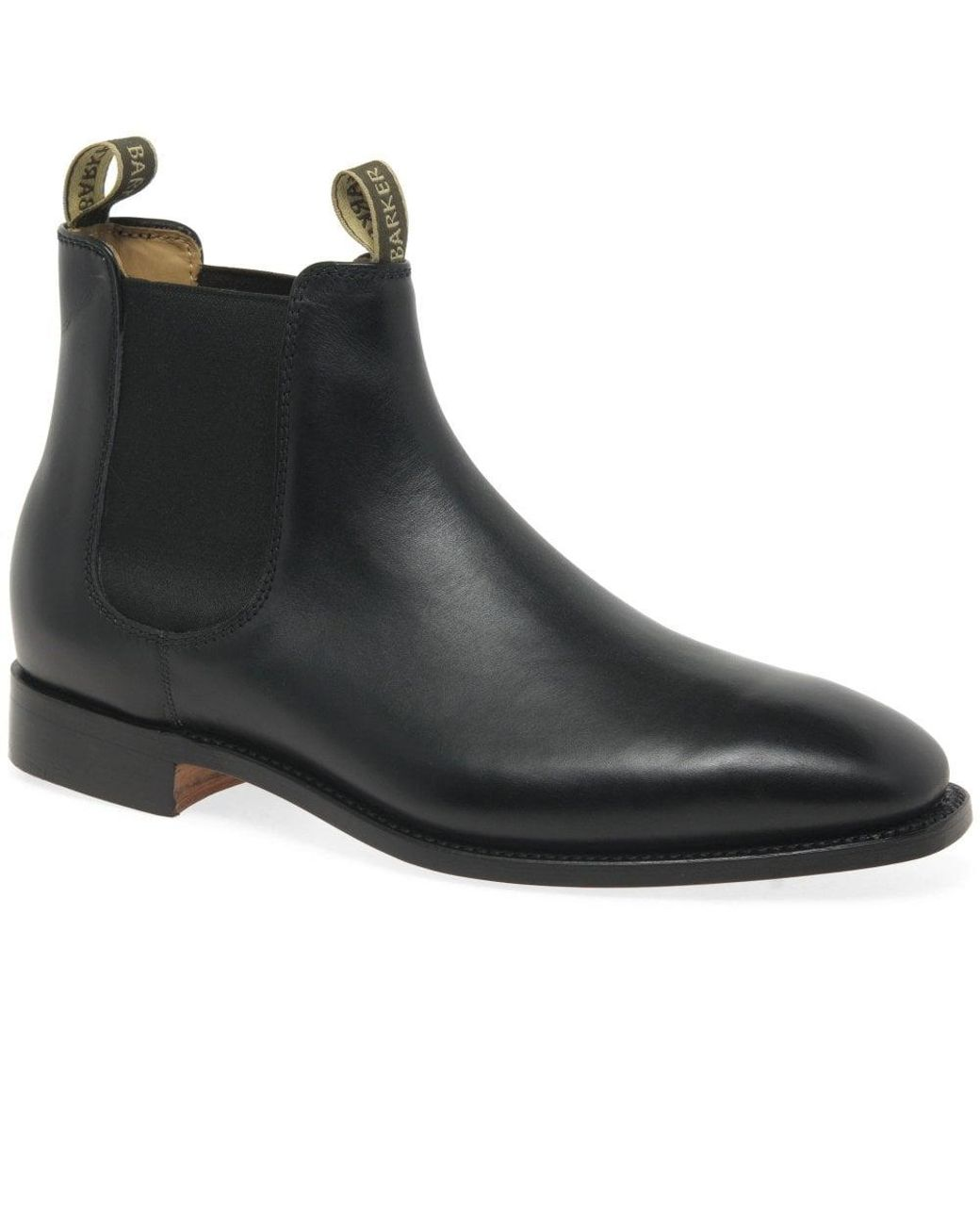 bbbd7f975d6 Black Mansfield Mens Chelsea Boots